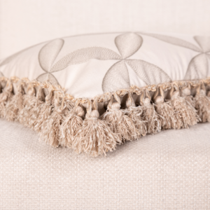 """Madame Tassel"" Lumbar Cushion"