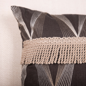 """Bullion Buster"" Lumbar Cushion with Feather Inner"