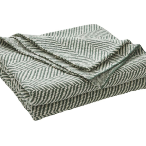 Solano Cotton Herringbone Knit Throw – Jungle