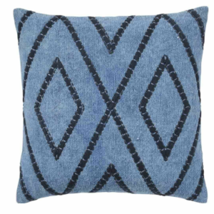 BOLD & BLUE Diamond Embroidery Shiso Cushion