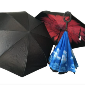 Inside Out Umbrella – Clouds